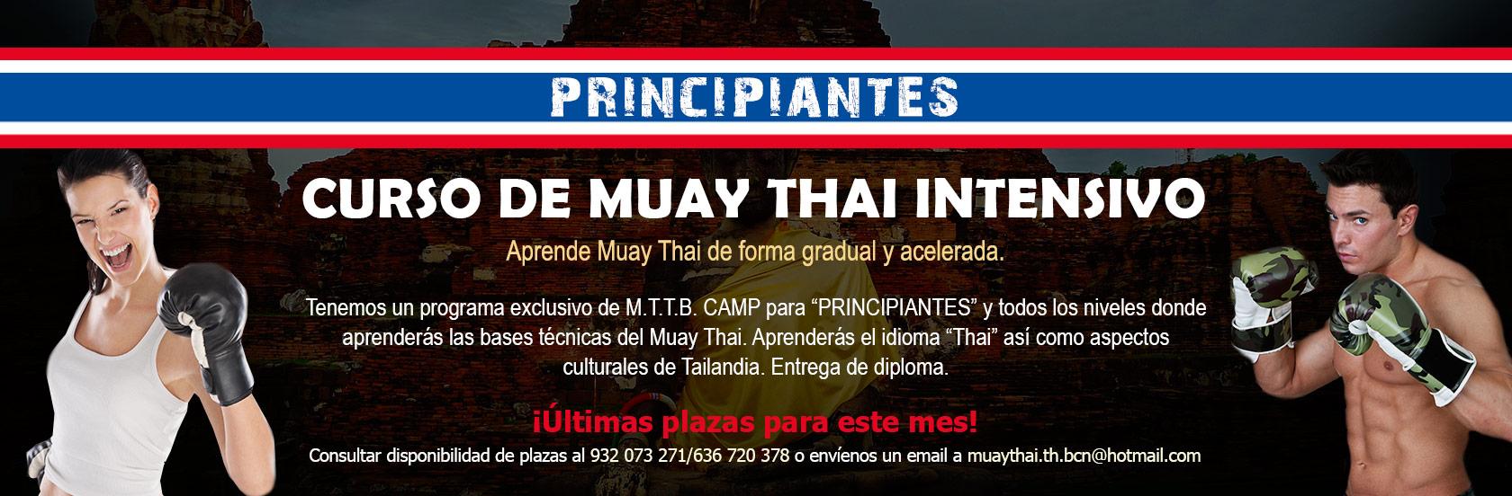 Curso de Muay Thai intensivo