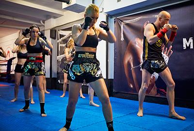 Clases de Muay Thai en Grupo - Clases artes marciales Barcelona